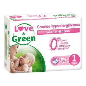 couche love and green taille 1